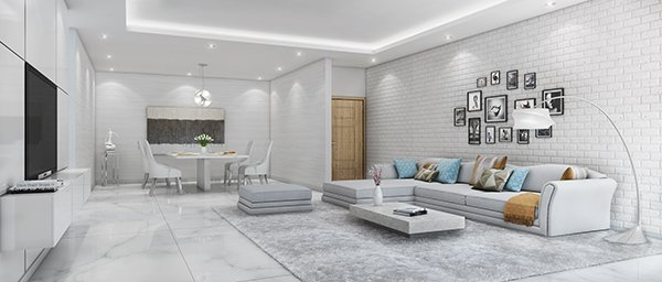 buy property in pune - Godrej infinity Living Dining - Home