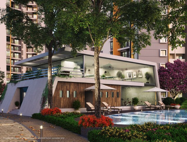 Joyville Homes by Shapoorji Pallonji club house