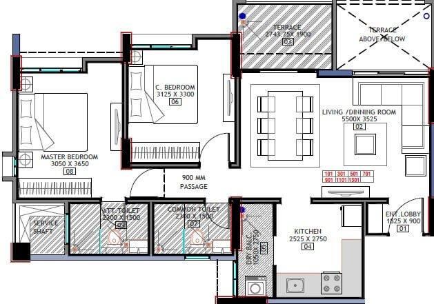 bhandari_32_pinewood_drive_apartment_2bhk